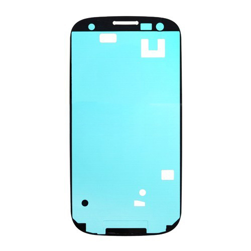 discount Front Housing Frame Bezel Plate Adhesive Sticker for Samsung Galaxy S III i9300