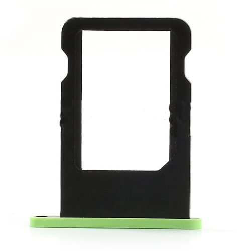 discount Blue SIM Card Tray Holder Repair Part for iPhone 5c (OEM)