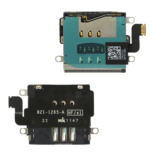 discount SIM Card Holder Flex Cable Replacement for iPad 4 / iPad with Retina Display