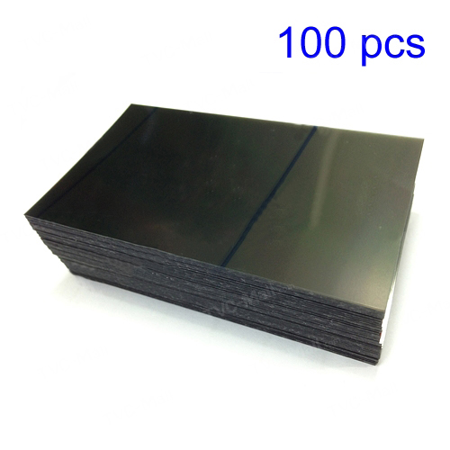 discount 100pcs/lot OEM LCD Polarized Film for Samsung Galaxy S2 I9100
