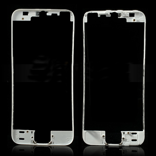discount White for iPhone 5s Touch Screen Bezel Mounting Frame Replacement
