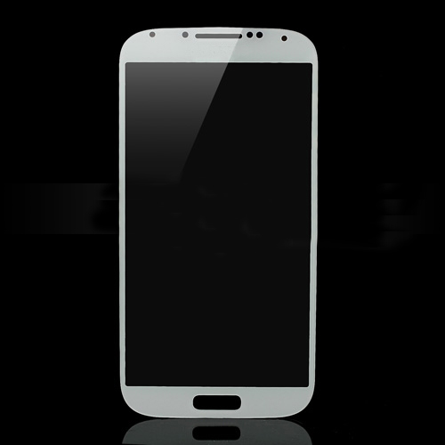 discount High Quality Front Glass Screen Lens Replacement for Samsung Galaxy S4 i9500 - White