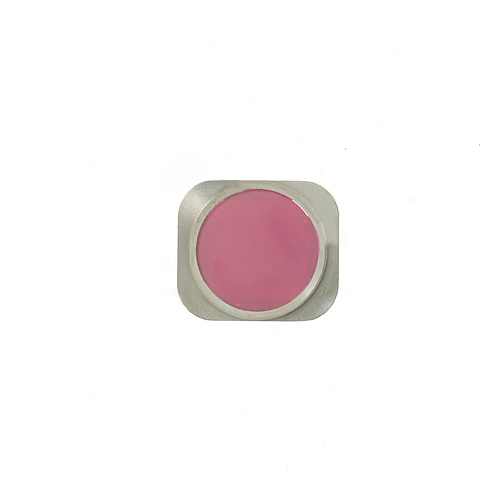 discount Home Button Key Repair Part for iPhone 5s - Pink