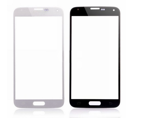 discount Front Screen  Glass Lens Replacement Part for Samsung Galaxy S5-white