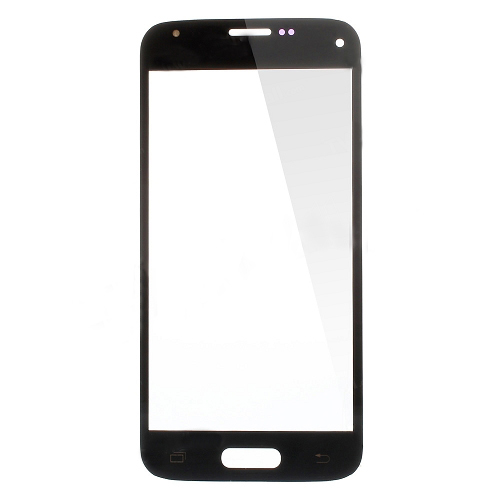discount High Quality Front Glass Lens Replacement for Samsung Galaxy S5 Mini G800 - Black