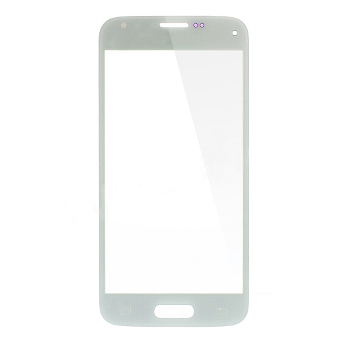 discount Front Glass Lens Replacement for Samsung Galaxy S5 Mini G800 - White
