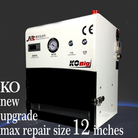 discount oca vacuum lamination machine high precision LCD repair machine 12in