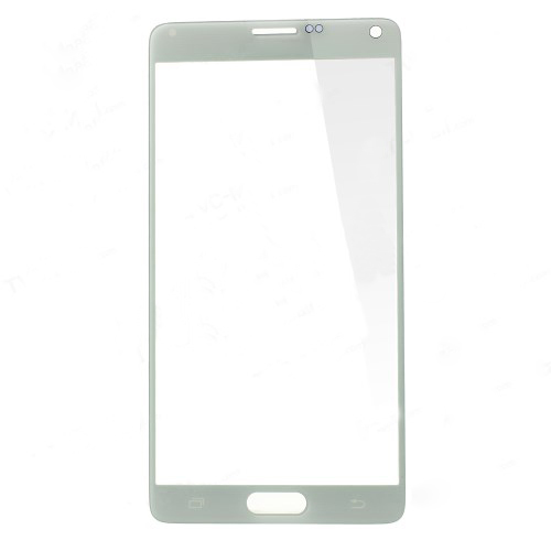 discount White Front Glass Lens Screen Cover for Samsung Galaxy Note 4 N910