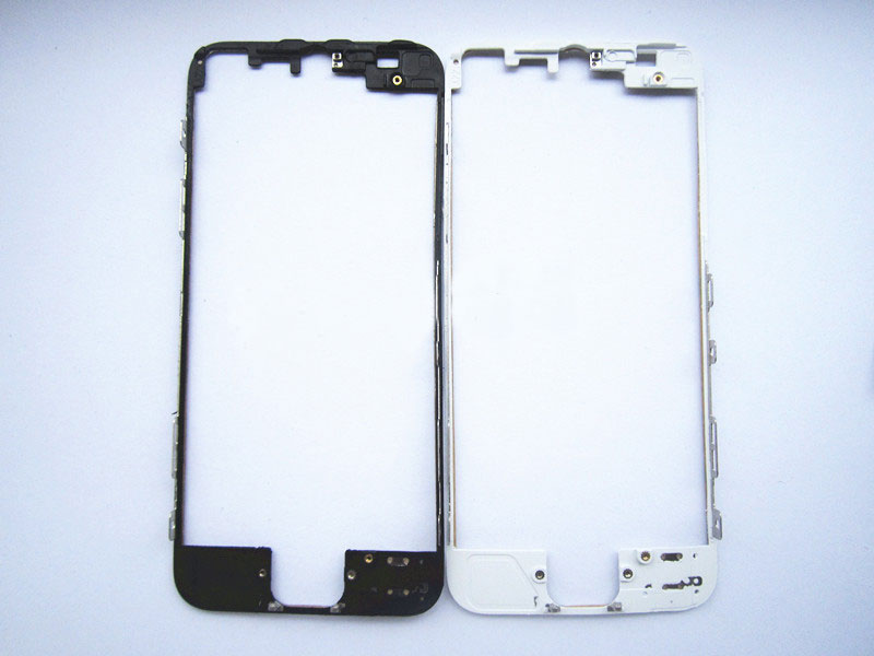 discount High Quality For iphone 5 Frame Bezel with hot melt glue - Black