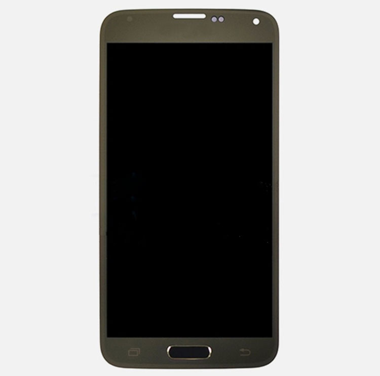 discount LCD Screen and Digitizer Assembly for Samsung Galaxy S5 Mini SM-G800H - Gold
