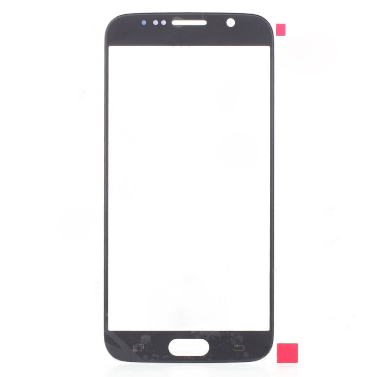 discount Front Glass Lens Spare Part for Samsung Galaxy S6 -Blue