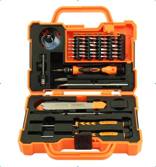 discount JAKEMY JM-8139 Anti-drop Electronic 43 in 1 Precision Screwdriver Hardware Repair Open Tools Set