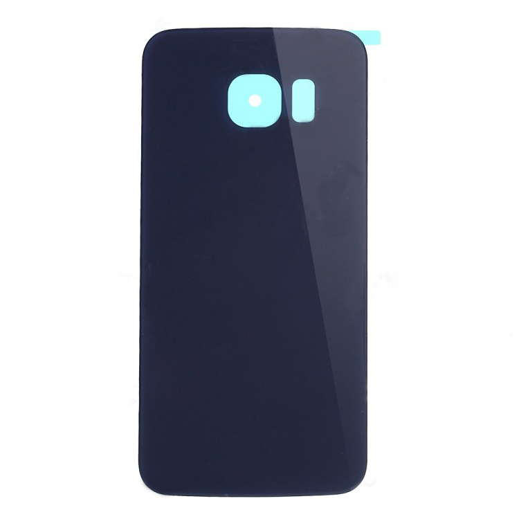discount High Quality Battery Housing Cover with Adhesive Sticker for Samsung Galaxy S6 edge G925 - Blue