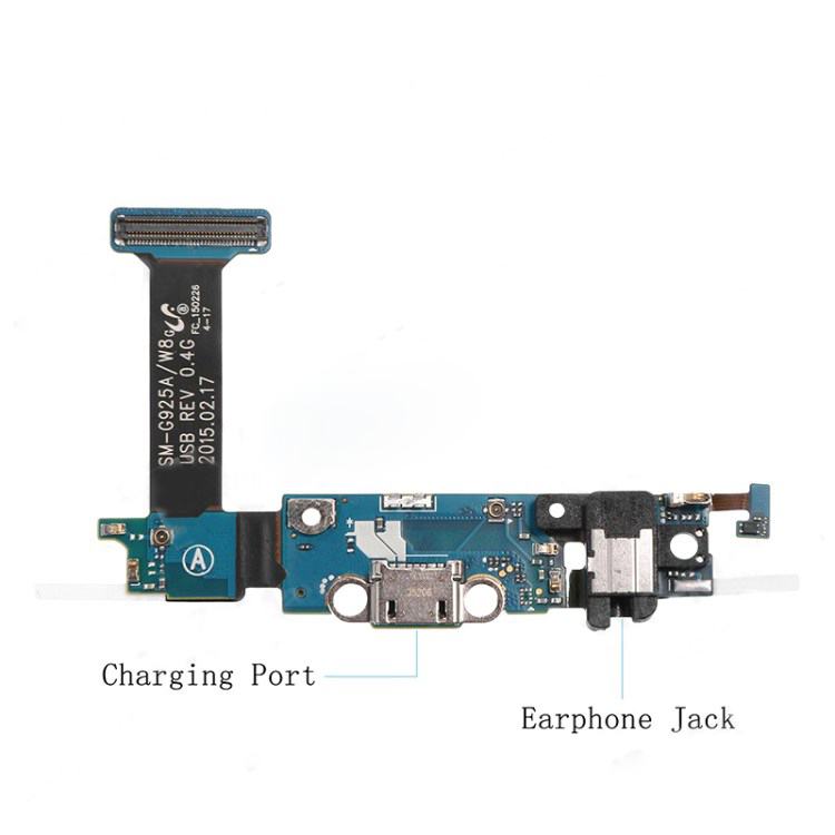 discount Charging Port Flex Cable Replacement for Samsung Galaxy S6 Edge SM-G925F