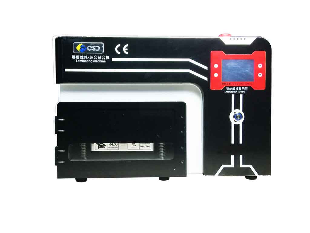 discount Vacuum Laminator Machine No Need Air compressor joint defoaming machine