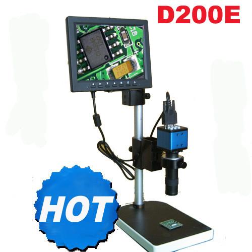 D200E Low price video microscope for bga rework station