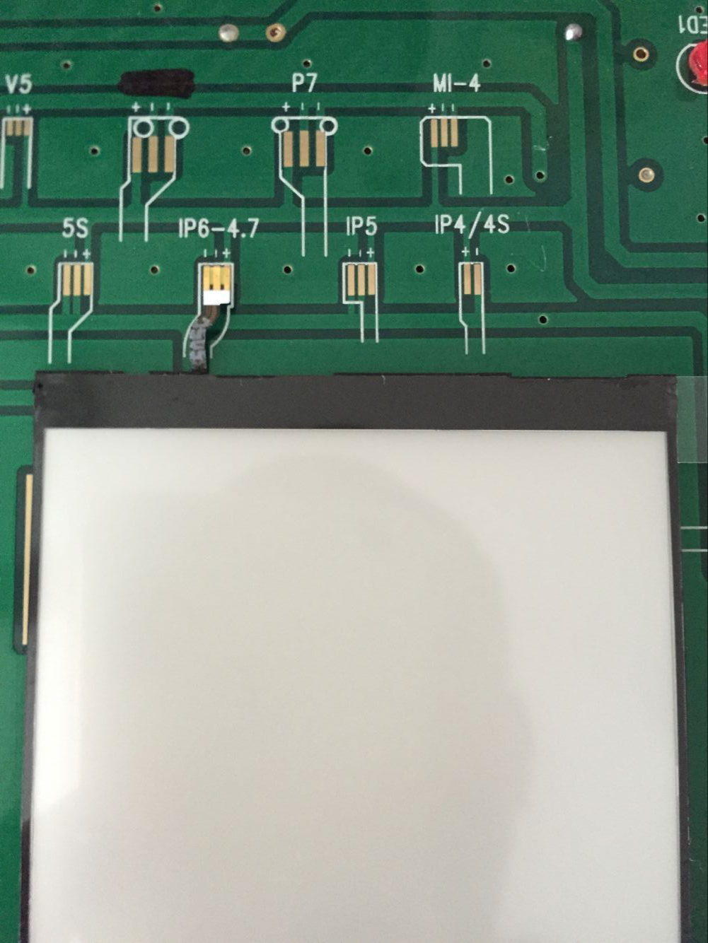 LCD Backlight Test Board For Iphone 4/4s/5/5s/6/6 plus/6s/7/7 plus