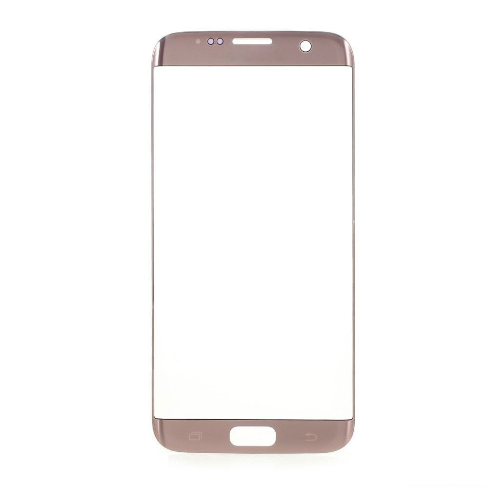 or new front glass lens for samsung galaxy s7 edge g935. Black Bedroom Furniture Sets. Home Design Ideas