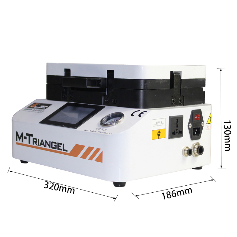 MT mini vacuum lcd laminating and bubble removing machine