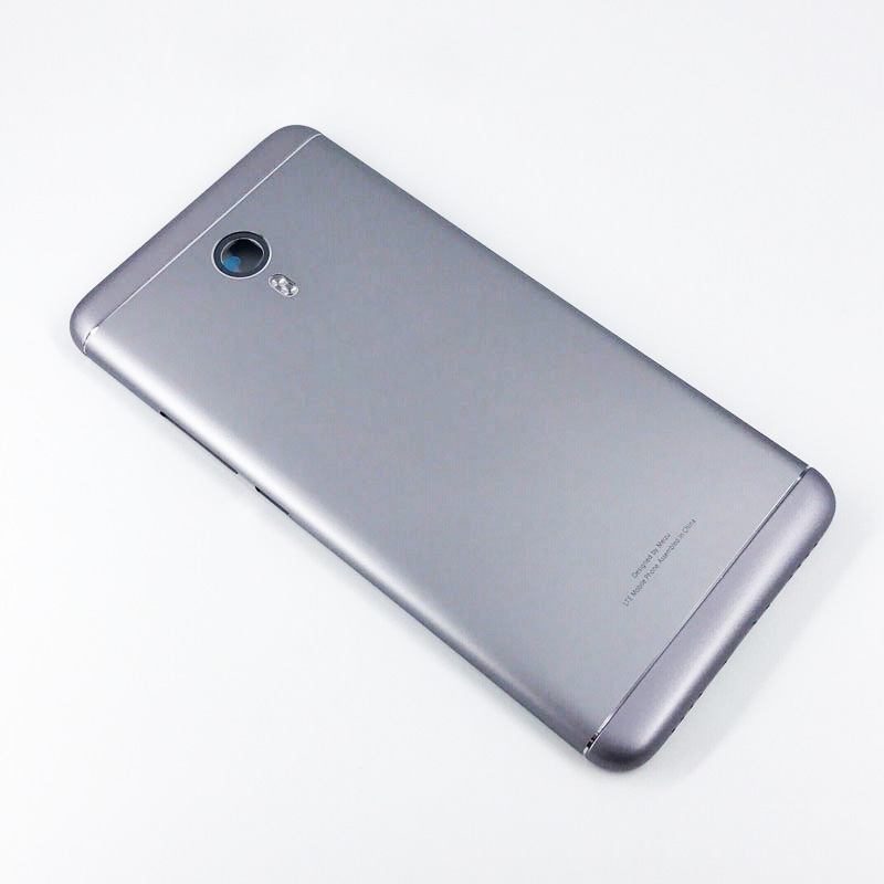 los angeles c36a0 2dee1 For Meizu M3 Note / Meilan Note 3 Battery Back Cover with Side Keys-Grey