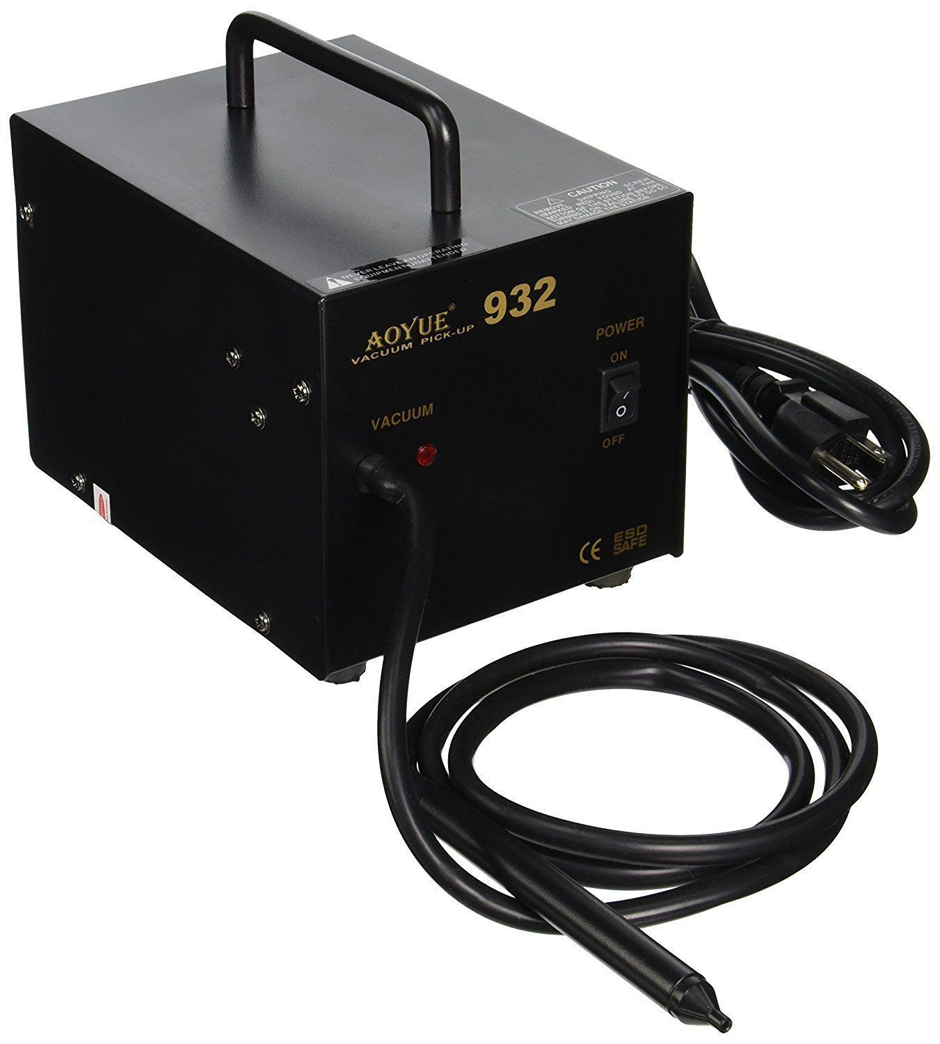 Aoyue 932 Vacuum Pickup Station Self Contained Pump Soldering Brazing Equipment