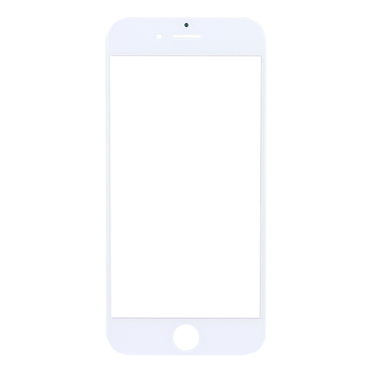 High Quality For iPhone 8 Front Screen Outer Glass Lens(White)