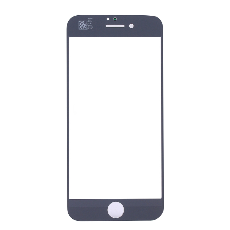 High Quality for iPhone 8 Plus Front Screen Outer Glass Lens(White)