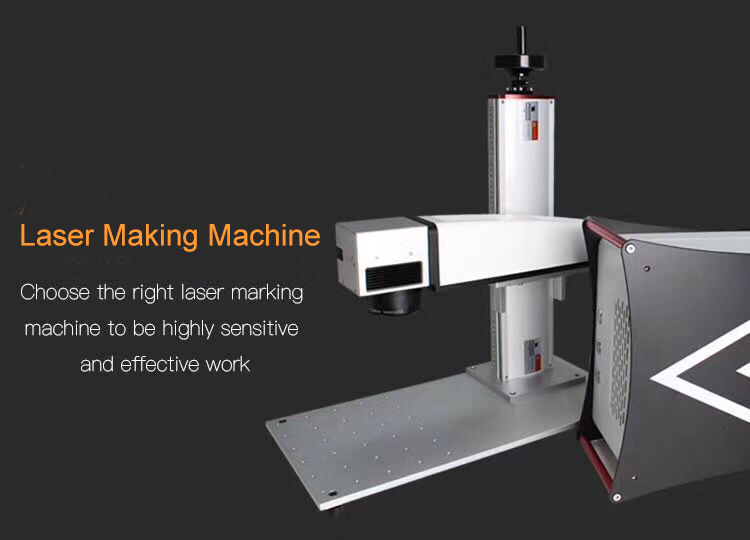 Laser source Super laser Black 20W split type mini fiber laser marking machine