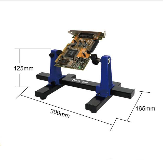SN-390 Adjustable Printed Circuit Board Holder PCB Holder PCB Soldering Assembly Stand Clamp Repair Tool 360 Degree Rotation