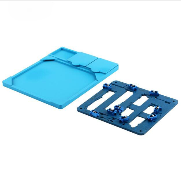 Circuit Board PCB Holder Jig Fixture Work Station with Heat Insulation Pad for iPhone 6/6P Logic Board A8 Chip Repair