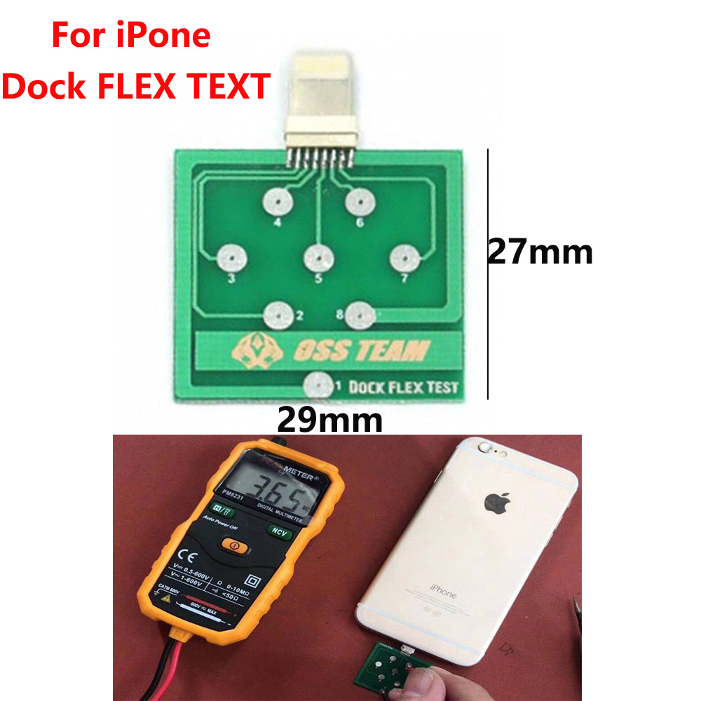 Mobile Phone Battery Power Charging Dock Flex Test Repair Tools For Micro Android Phone Testing