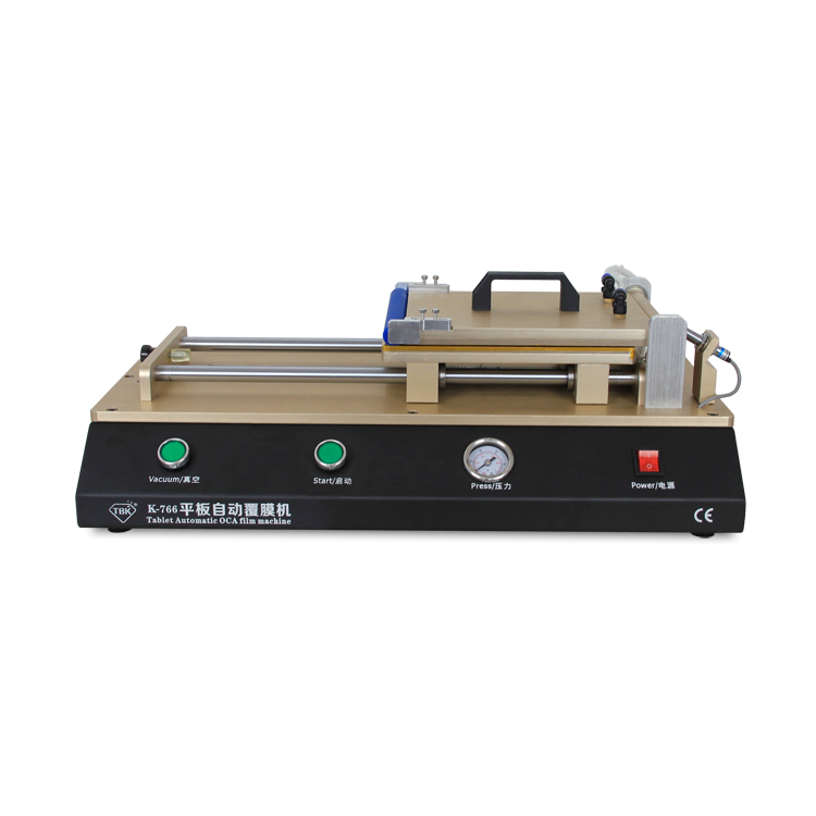 14 inch automatic built in vacuum pump tablet pc film lcd oca laminating machine TBK-766
