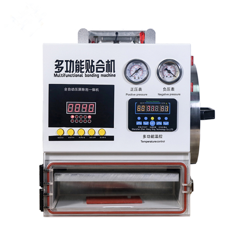 New style 3 in 1 touch screen separator lcd vacuum laminating bubble remove machine
