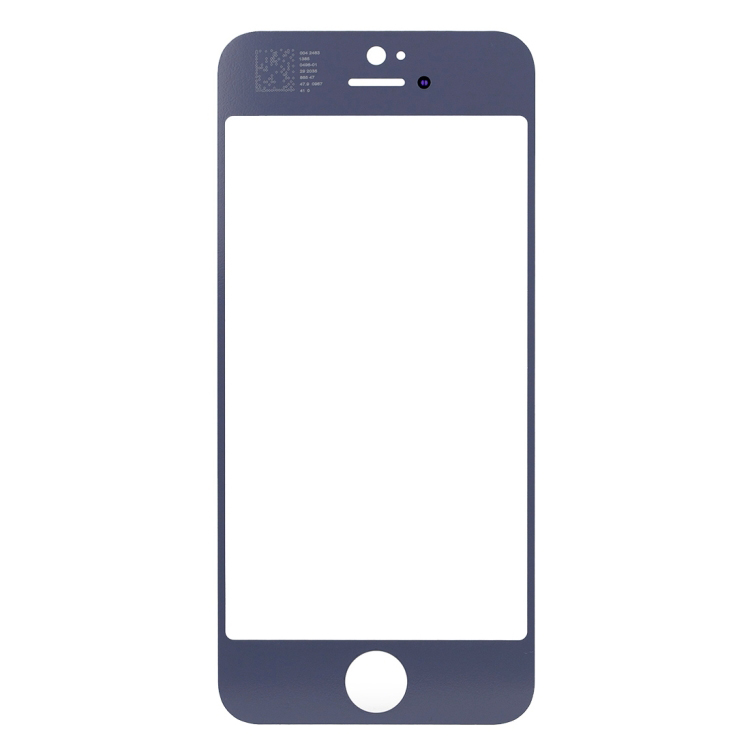 High Quality For iPhone SE Front Screen Outer Glass Lens (White)