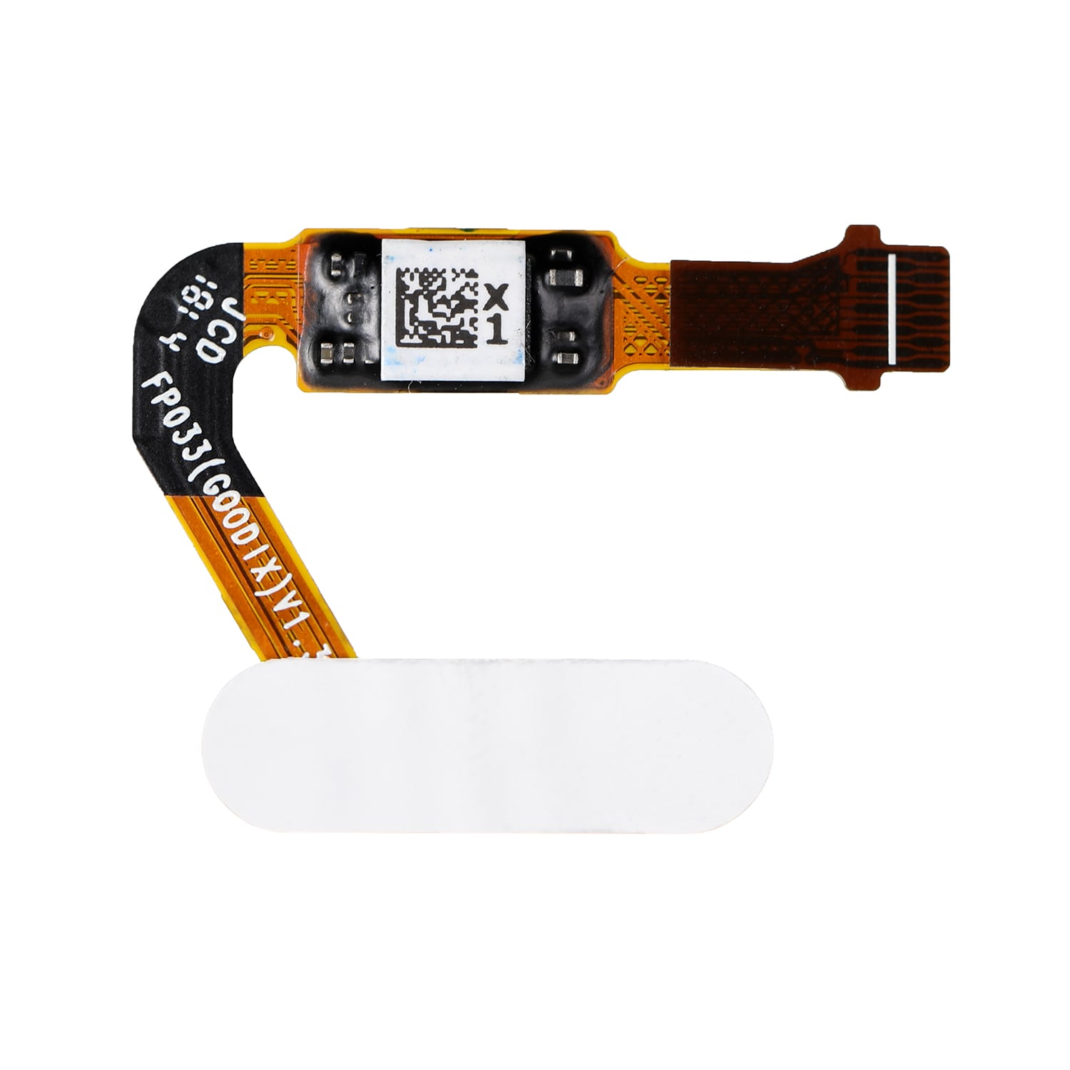 FOR HUAWEI P20 HOME BUTTON FLEX CABLE - WHITE