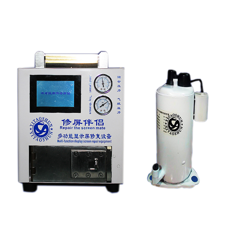 Multifunction lcd repair machine with vacuum pump and air compressor EP-V06