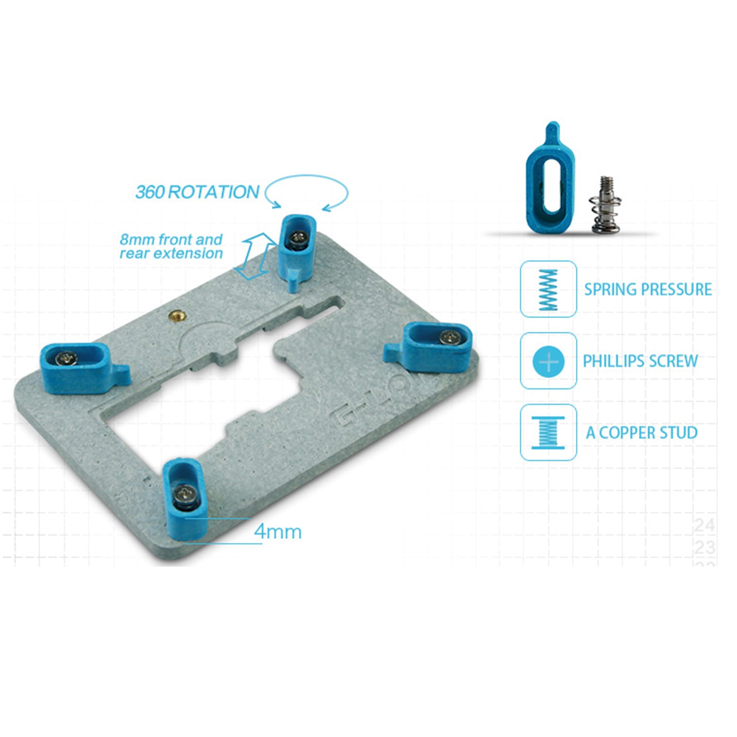 G-Lon Main Board Double Side Used Fixture for iPhone X ...
