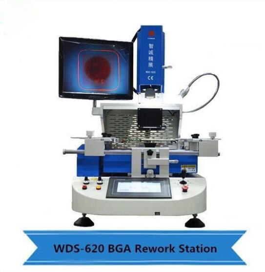 WDS-620 Automatic infrared bga rework station / PCB Motherboard Repair Soldering Machine For Laptops Phone IC Repair