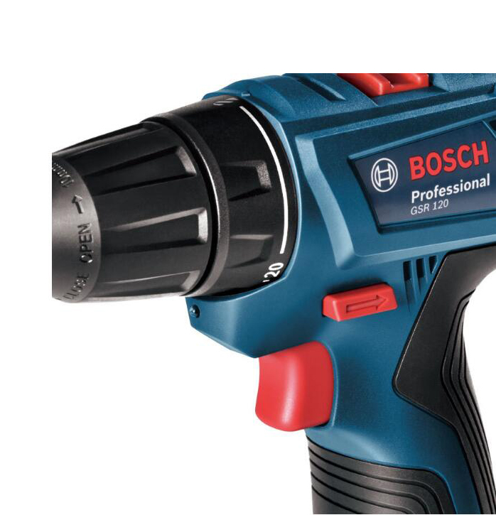 GSR120 BOSCH New Design Power Drill DIY Lithium-Ion Battery Cordless Electric Power Driver Drill Bits Tool Woodwork Steel Drill