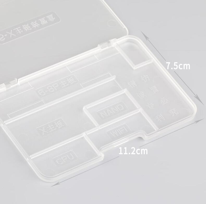 MOBILE PHONE MAIN BOARD STORAGE BOX FOR IPHONE 6-X
