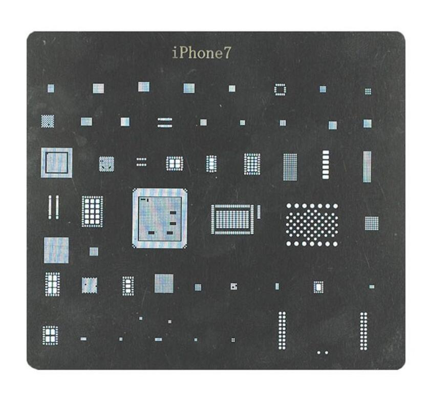 High Quality full set BGA Reballing Stencil dedicate kit For iPhone 7