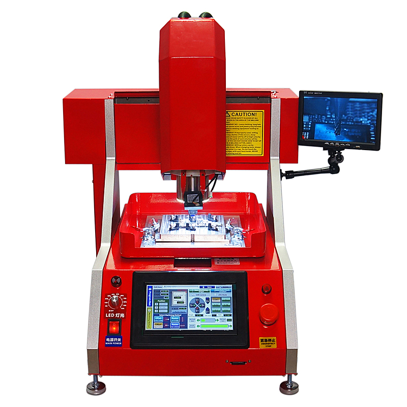 Automatic CNC IC router chip repair Milling Polishing Engraving Machine for iPhone Main Board with molds 6 6p