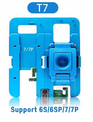 JC T7 NAND Flash Drive Repair Tool NAND Test Fixture for iPhone 6 6S 6SP 7 7P Motherboard Repair Tool