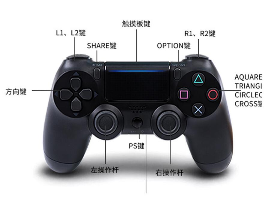 Wireless PS4 Controller Bluetooth Gamepad For Sony PlayStation Dualshock 4/4 Pro Vibration Joystick With Retail Package