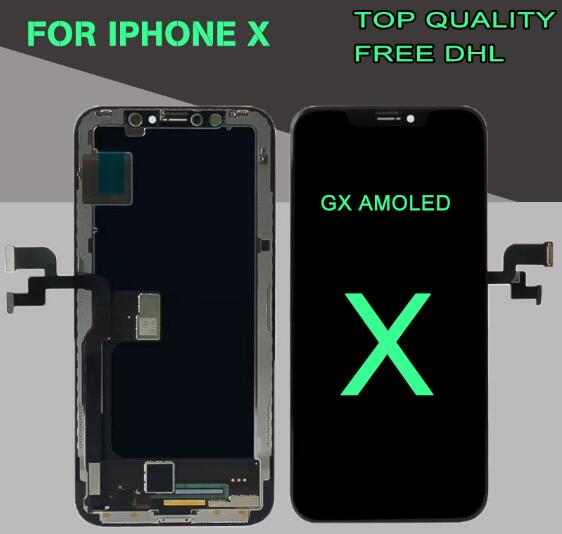 timeless design 6923c 7a858 GX AMOLED OEM Display For iPhone X OLED Screen Touch Screen Digitizer  Assembly Replacement