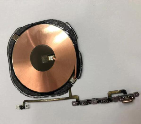 Wireless Charging Charge Coil NFC Chip Welded With Volume Flex Cable For iPhone XS Max