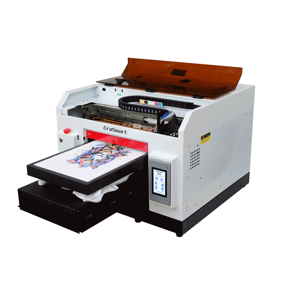 A3 1390 Desktop Digital Fabric Printer Printing Textile Machine For T Shirt
