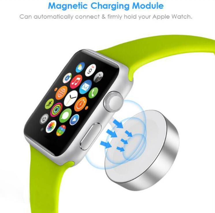 OR Quality Fast Wireless Charger Magnetic Charging Cable For Apple Watch Charger Adapter Series 4 3 2 1 With USB Charging Cable