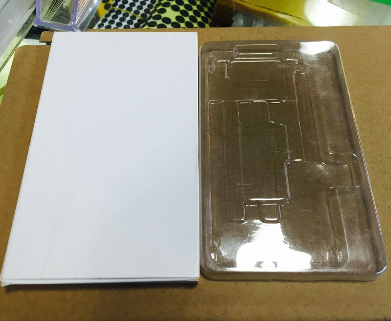 10pcs/lots Packing Box with Transparent Holder for iPhone X/XS  LCD Screen Assembly