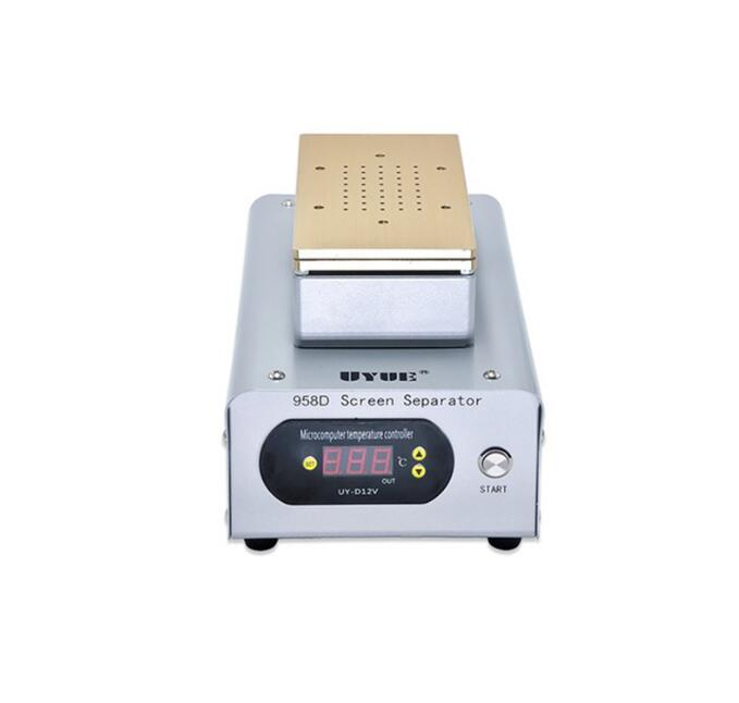 UYUE 958D High Power Built-in Two Big Pumps 7 Inch Vacuum LCD Separator Machine for iPhone Samsung Smart Phone